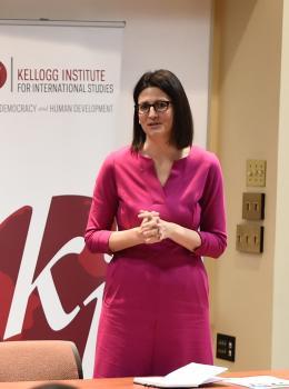 Kellogg Faculty Fellow Karrie Koesel