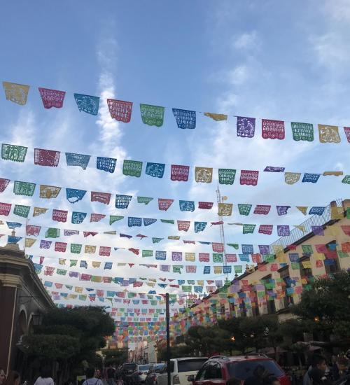 Lena Do ETW  Mexican Flags