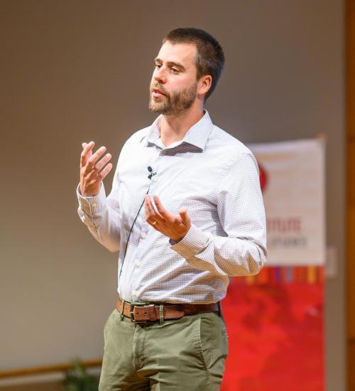 Paul Friesen presents his research at Fellows Spotlight 9/16/21