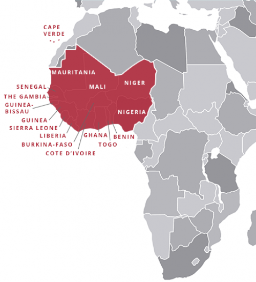 Map Of Africa Resources.West Africa Trunk Kellogg Institute For International Studies