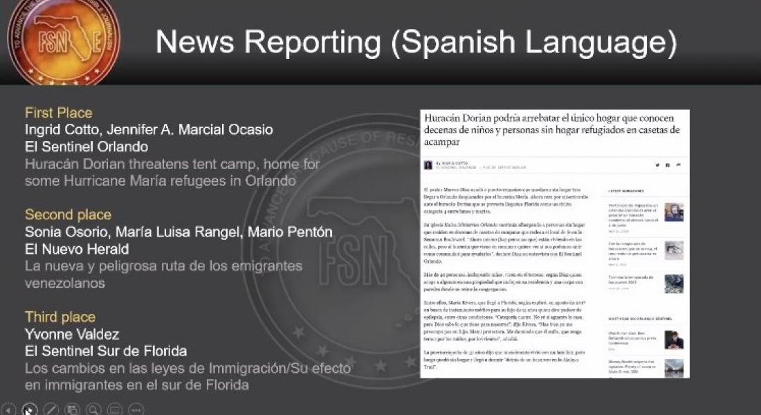 Rangel News story