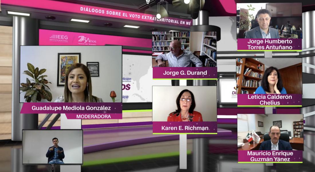 Panel with Guadalupe Mendiola Gonzalez and Karen Richman
