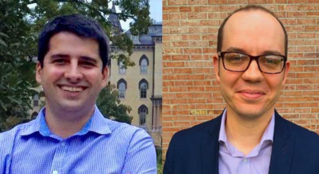 Luis Leandro Schenoni and Sean Braniff