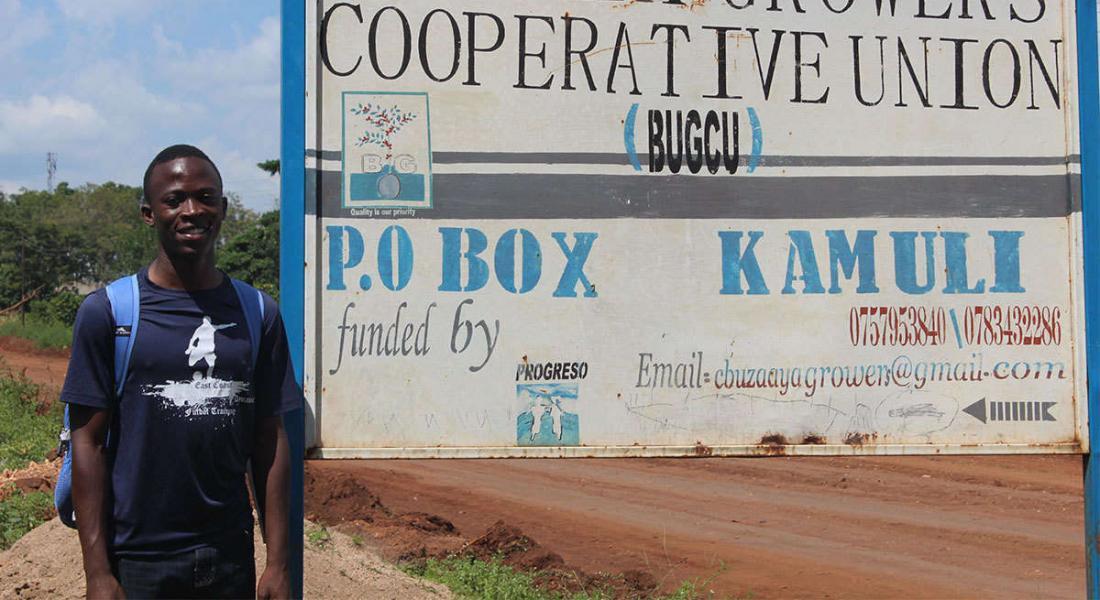 International Scholar Trevor Lwere in Uganda