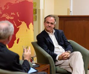 Former Kellogg Visiting Fellow, Chilean Senator Ignacio Walker