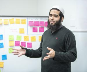 MGA Student Ahmed Makki