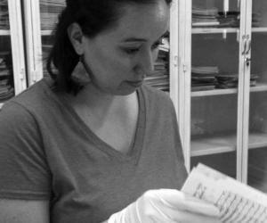 Kellogg Dissertation Year Fellow Carla Villanueva