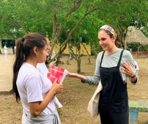 Bridget Hart New Horizons Ecuador