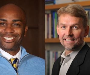 Kellogg Institute Faculty Fellows Ernest Morrell and Mark Berends
