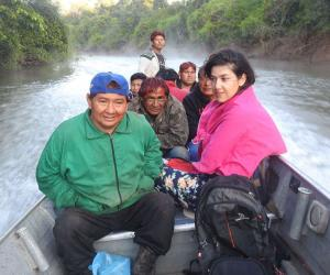 PhD Fellow Patrícia Rodrigues conducts research with Amerindian people in Amazonia