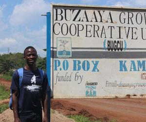 International Scholar Trevor Lwere in Uganda