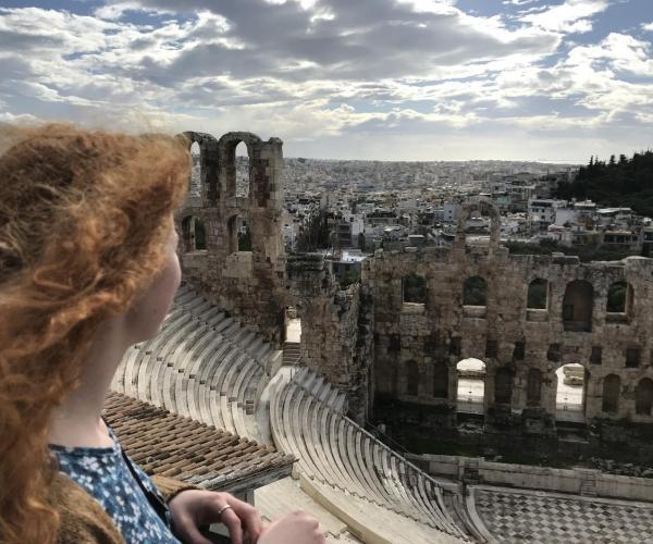 Elsa Barron Greece