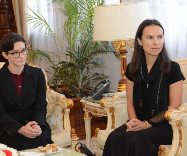Powell and Rothkopf in Algeria, 2018