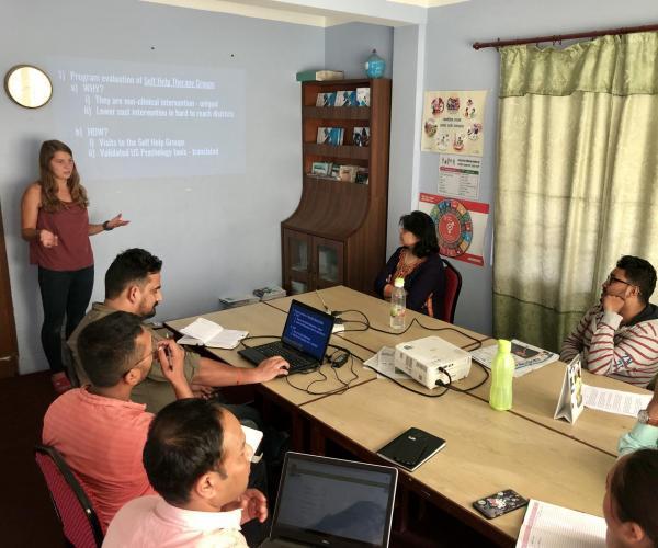 Marissa Vander Missen in Nepal