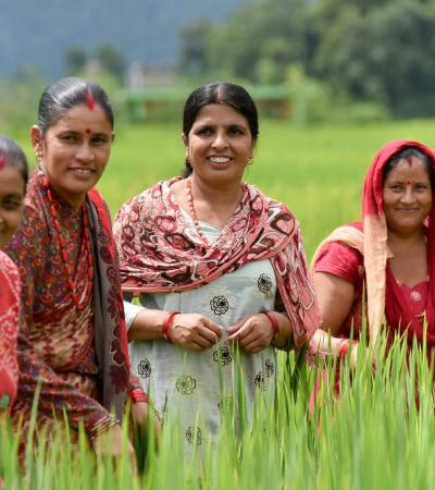 Farm Women in Nepal