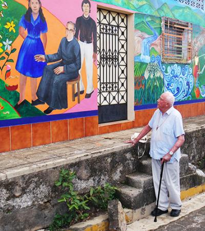 Rev. Pelton, Courtesy of la Escuela de Arte de Perquín, El Salvador