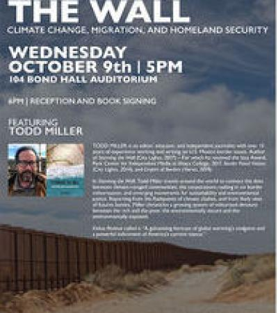 Todd Miller event poster
