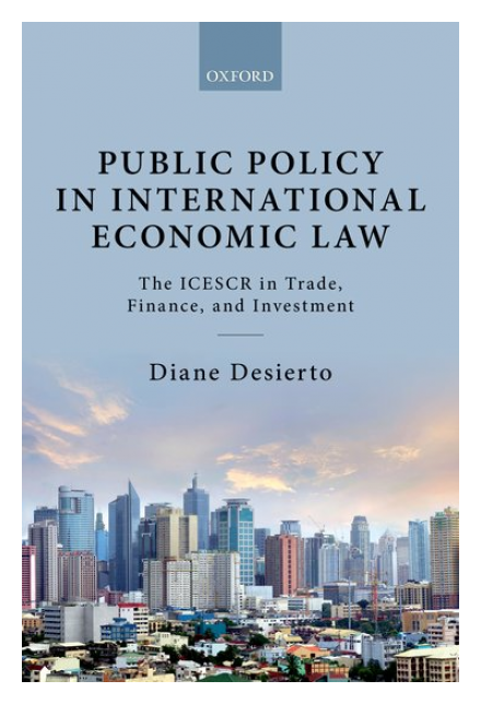 Public Policy in International Economic Law: The ICESCR in Trade, Finance, and Investment