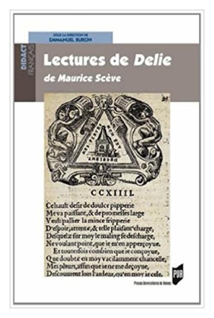 L'imagerie mariale dans Délie : une réponse à Pétrarque by Rev. Gregory Haake, C.S.C.