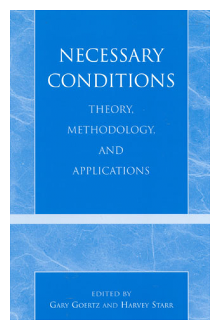 Necessary Conditions: Theory, Methodology, and Applications