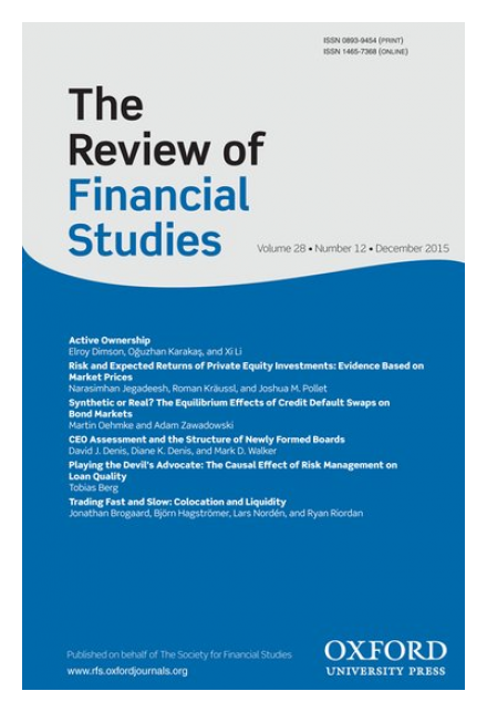 The Review of Financial Studies