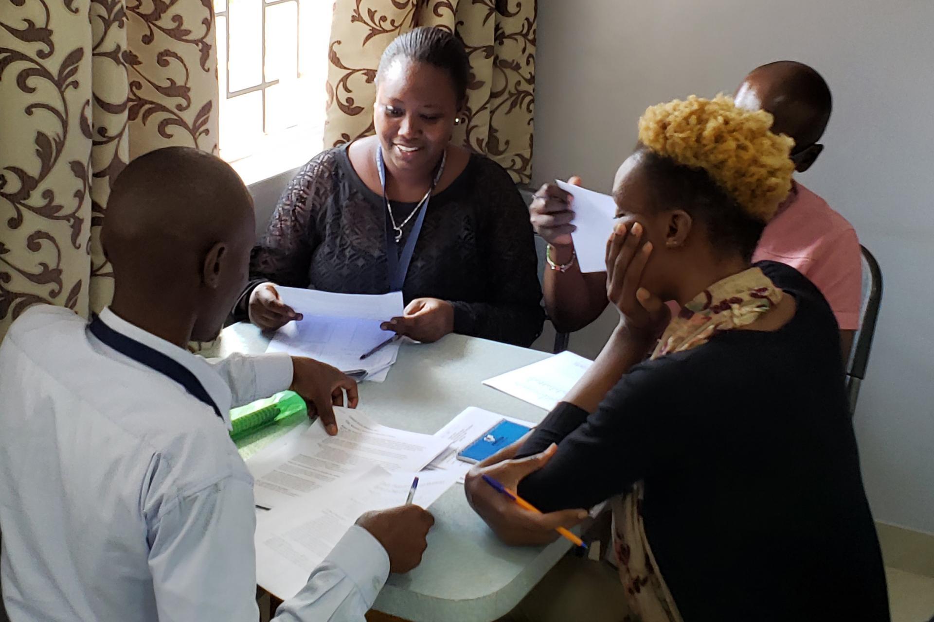 Kenya Education Project Training Session